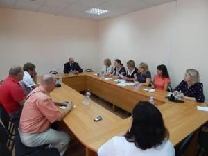 Итоговая встреча в департаменте внутренней политики Брянской области